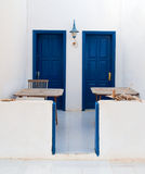 Entrance to two appartments at Graciosa Royalty Free Stock Image