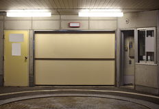 Entrance to underground car parking Stock Photography