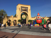 Entrance to Universal Studios, Orlando, Florida Royalty Free Stock Photography