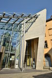 Entrance to the University library TB4 in Bamberg, Germany Stock Photography