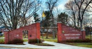 Entrance to University of North Georgia Royalty Free Stock Photos