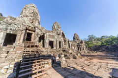 Entrance to upper terrace of Prasat Bayon  temple Royalty Free Stock Image