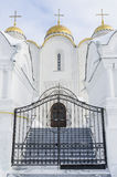 Entrance to the Uspensky cathedral city Stock Photos
