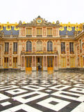 Entrance to Versailles Palace in France Stock Images