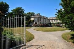 Entrance to the villa Royalty Free Stock Photos