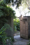 Entrance to Walled Garden at the San Diego Botanical Garden in C Stock Photo
