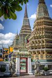Entrance to Wat Pho Buddhist temple. Entrance to Wat Pho temple(Wat Phra Chetuphon), Bangkok, Thailand Stock Images