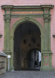 Entrance to Wawel courtyard royalty free stock photos