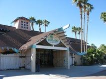 Entrance to Wildlife World Zoo and Aquarium, Phoenix, AZ Royalty Free Stock Photos