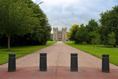 Entrance to the Windsor castle. UK Stock Photos