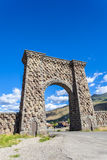Entrance to Yellowstone National Park Stock Image