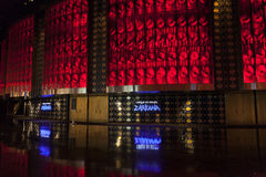 Entrance to Zarkana Theater at Aria in Las Vegas, NV on August 0 Royalty Free Stock Photo