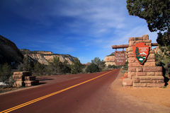 Entrance to Zion Stock Photography