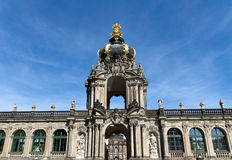 Entrance to the Zwinger Stock Photos