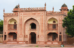 Entrance of the Tomb of I timad ud Daulah in Agra, Uttar Pradesh Royalty Free Stock Images