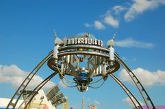Entrance of Tomorrowland Royalty Free Stock Image