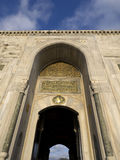 Entrance of the Topkapi palace, istanbul Royalty Free Stock Photography