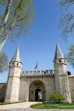 The entrance of Topkapi Palace in Istanbul Stock Photo