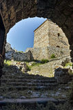Entrance of Tower and Outside view of Pirot Fortress,  Serbia Stock Images