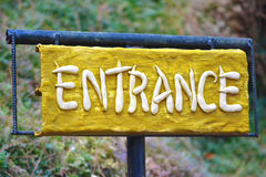 Entrance Royalty Free Stock Photos