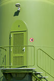 entrance turbinwind Arkivfoton