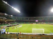 PALERMO, ITALIA - 12 febbraio 2018 - US Città di Palermo vs Foggia - Serie B Stock Images