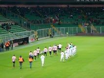 PALERMO, ITALIA - 12 febbraio 2018 - US Città di Palermo vs Foggia - Serie B Stock Image