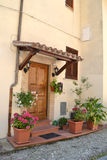Entrance in Umbria Stock Image