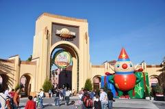 Entrance of Universal Studios Orlando. Entrance of Universal Studios in Orlando, Florida, USA Stock Photos