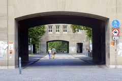 Entrance University of Mainz Royalty Free Stock Image