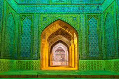 Entrance of Vakil Mosque in Shiraz, Iran Stock Image