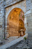 The entrance of Vidin bulwark from Danube Royalty Free Stock Photo