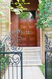 Entrance of the villa Royalty Free Stock Image
