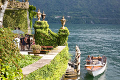 Entrance Villa Balbianello, Como Lake, Italy Stock Image