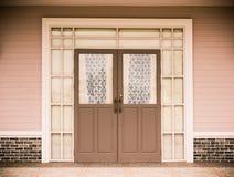 Entrance vintage House Stock Image