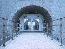 Entrance and walkway Royalty Free Stock Photography