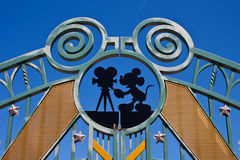 Entrance in Walt Disney Studios Royalty Free Stock Images