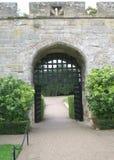 Entrance, Warwick castle, England Stock Photos