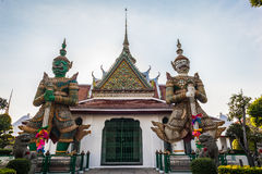 Entrance of Wat Arun Royalty Free Stock Photos
