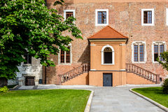 Entrance, Wawel Castle, Krakow Royalty Free Stock Photography