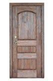 Entrance wooden door . Stock Photos