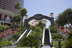 The entrance on The Wynn Encore Hotel and Casino Royalty Free Stock Image