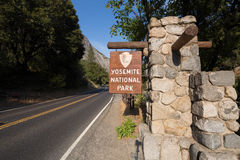 Entrance Yosemite Royalty Free Stock Photo