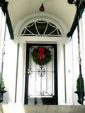 Entranceway noir et blanc Photographie stock