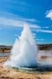 Entrando em erupção o geyser III Imagem de Stock Royalty Free