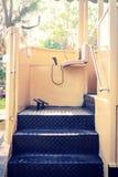 Entraînement de la pièce de la tramway Image stock