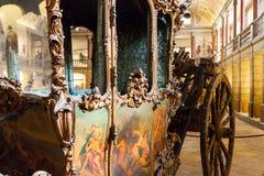 Entraîneur national Museum à Lisbonne, Portugal Photo stock