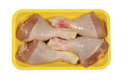 Entranhas da galinha - coxa imagens de stock