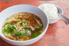 Entranhas da sopa Foto de Stock