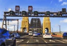 Entrare del ponte di HWY Sy Harb Fotografia Stock Libera da Diritti
